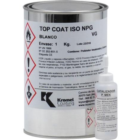 Top Coat ISO NEO Blanc Leyser | 1 kg