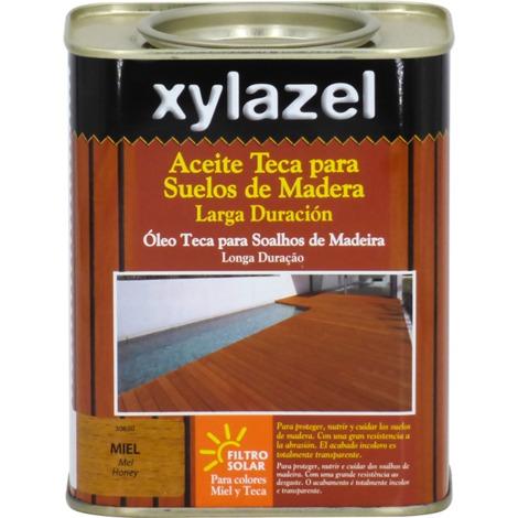 Huile Teck Sols Longue Durée Xylazel   750 ml - Incolore