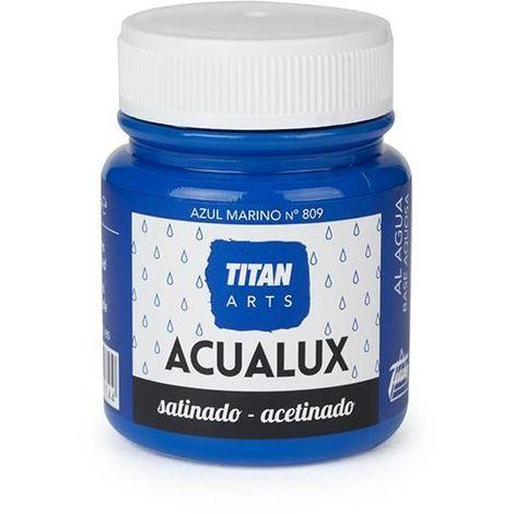 Couleurs Bleues Acualux Titan   Bleu marine 809 - 100 ml