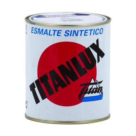 Email Titanlux Blanc/Noir brillant | 125 ml - Affaires étrangères 566E Blanc