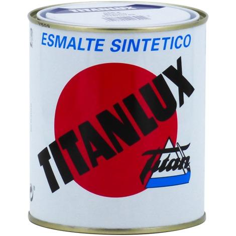 Email Titanlux Blanc/Noir brillant | 375 ml - 567 Noir brillant