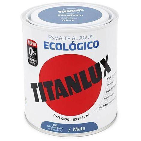 émail écologique Eau Titanlux Maté   750 ml - 550 Grey Marengo