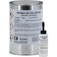 Résine Polyester Accélérée Tixotropée | 1 kg