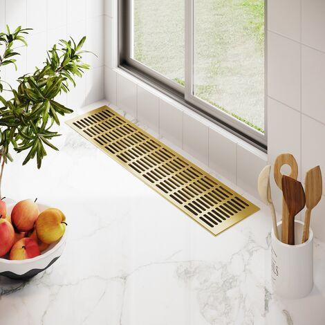 Braun eloxiert L/üftungsgitter Aluminium Stegblech L/üftung 150 mm x 300 mm in Verschiedenen Farben