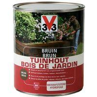 V33 Brun Bois de jardin 5 L