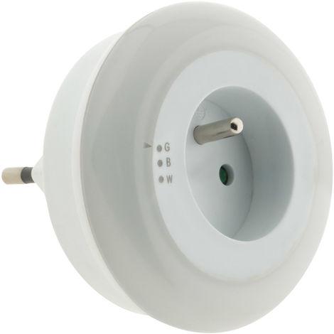 Veilleuse LED multicolore automatique avec capteur de jour - Otio