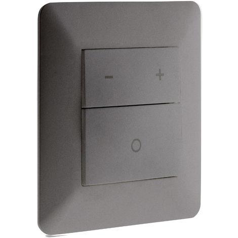 SCHNEIDER secteur//LV Variateur Interrupteur de lumière 1 G 300 W Ultra Slim-Argent