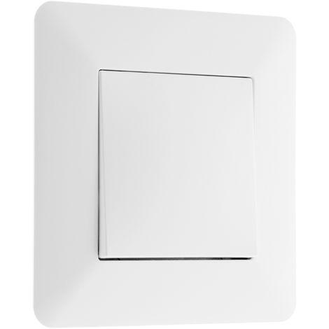 Interrupteur poussoir 10A Blanc - Artezo