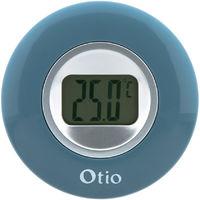 Thermomètre d'intérieur bleu - Otio