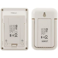 Thermomètre int/ext sans fil Blanc - Otio