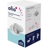 Prise connectée d'extérieur pilotable à distance ou avec télécommande - Otio