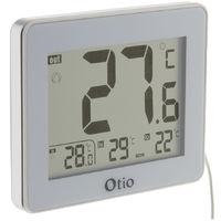 Thermomètre intérieur / Extérieur filaire Blanc - Otio