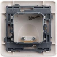 Plaque sortie de câble 16A Blanc - Artezo
