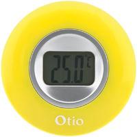 Thermomètre intérieur à écran LCD - Jaune - Otio