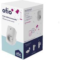 Prise connectée pilotable à distance ou avec télécommande - Otio