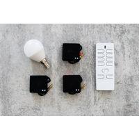 Pack éclairage connecté avec télécommande et 3 modules éclairage - Otio