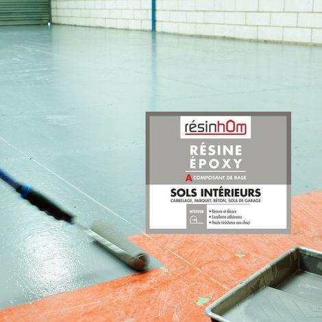 Résine époxy spécial sols intérieur  | Marron RAL 8004 - 4L - Marron RAL 8004