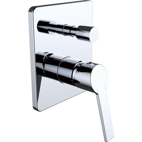 Grifo de ducha monomando para empotrar 2 vías S12 Xtreme