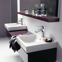Grifo Lavabo Grifo Baño Diseño Moderno Alta Calidad Monomando Lavabo Grifo de Cuenca Griferia Lavabo y Baño Aireador Desmontable Ahorro del Agua