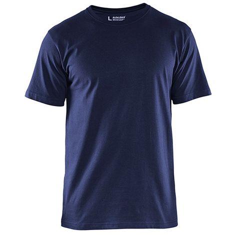 T-Shirts pack x 5 - 8800 Marine - Blaklader - taille: L - couleur: Bleu marine