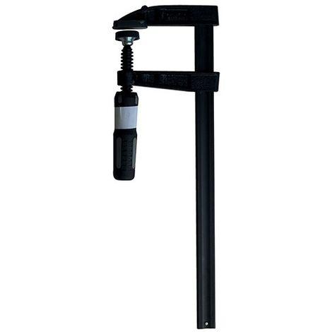 Serre-joint à manche saillie 50 mm - section 15 x 5 mm - L. 250 mm - 7050.155.025 - Leman - -