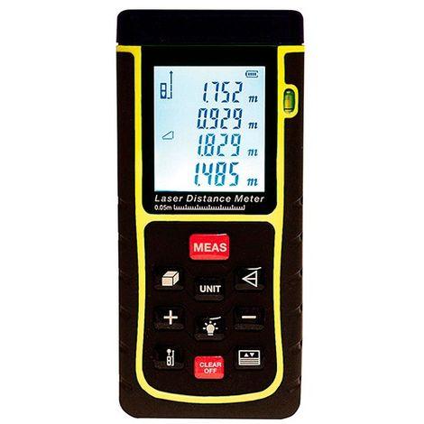 Lasermètre (télémètre) 40 Mètres plus ou moins 2mm plus Pythagore - G30240 - D-Work - -
