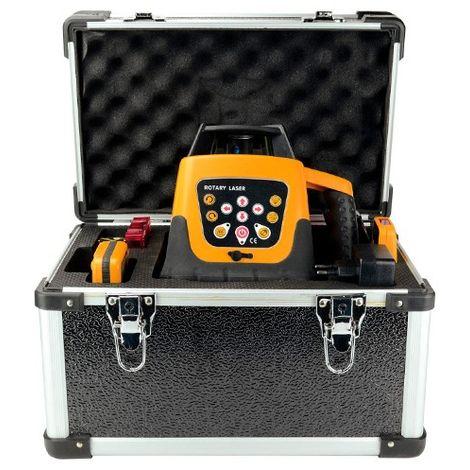 Niveau laser auto plus recepteur plus télécommande. Pour pente 9% - S15016 - D-Work
