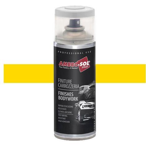 1 aérosol de peinture Jaune Haulotte, spécial AGRI/TP 400ML - Ambro-sol - V400CAR16 - Jaune Haulotte