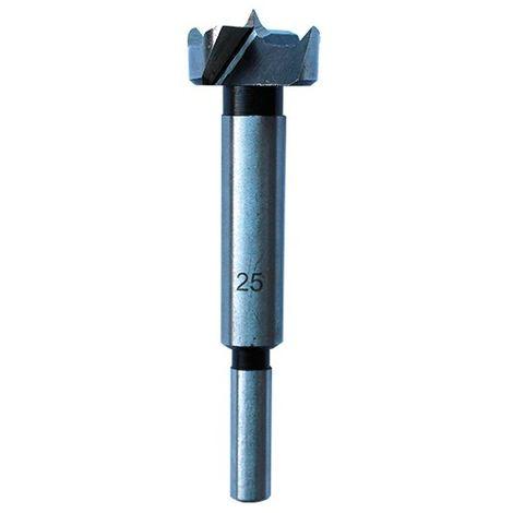 Mèche à façonner en acier à fond plat D. 15 mm L. 90 mm Q. 8 mm - 100.515.00 - Leman