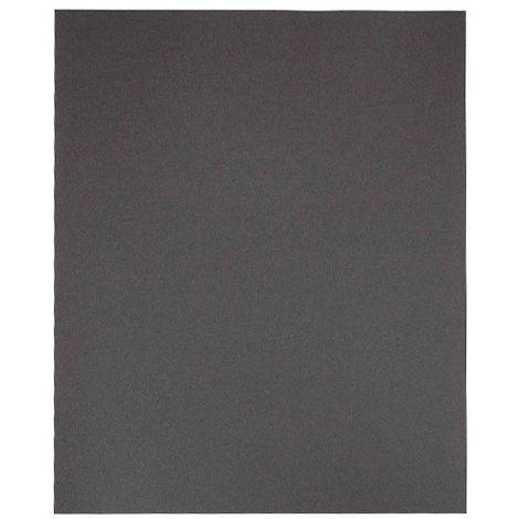 Lot de 50 feuilles papier imperméable 230 x 280 mm Gr. 600 pour métal à eau - 9723560 - Leman - -