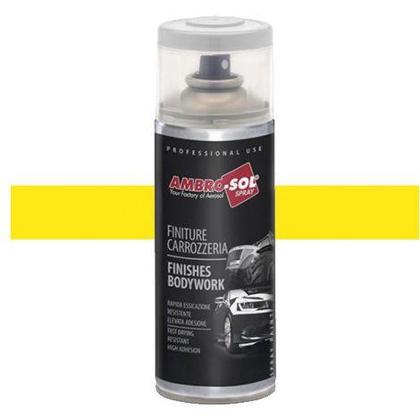 1 aérosol de peinture Jaune John Deere, spécial AGRI/TP 400ML - Ambro-sol - V400CAR8 - Jaune John Deere