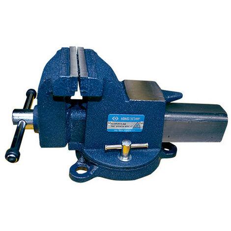 Étau à base tournante - H 102 mm x L 572 mm x l 225 mm - -