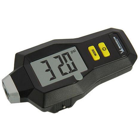 Contrôleur pression digital - 0,05 à 7 bars + usure pneus en mm - Michelin