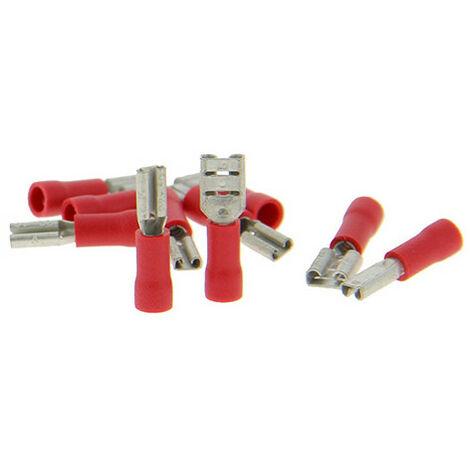Assortiment de 10 cosses spéciales haut-parleurs rouges - XL Tech