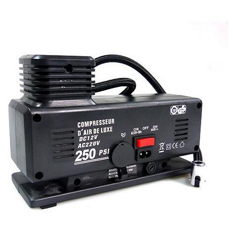 Compresseur 12 - 220 V - 17,5 bars - Cartec