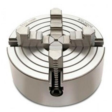 Mandrin 4 mors indépendants D. 125 mm pour tour à métaux