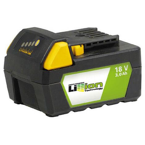 Batterie Li-ion 18 V 3 Ah avec indicateur de charge pour perceuse LI3A 18 Fartools 215521 version 2