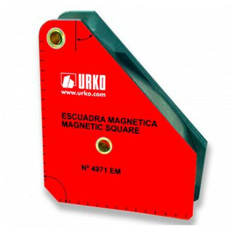 Équerre magnétique de soudure 45°/90° - 95 x 110 mm - Mod. 4971-EM