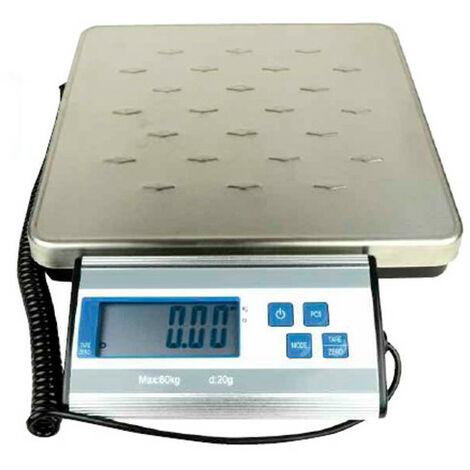 Balance avec plateau renforcé 60 Kg x 20 g