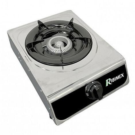 Réchaud gaz inox 1 feu 2,9 KW - taille: - couleur: