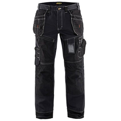 Pantalon X1500 - Blaklader - 15001380 - taille: 56C (Jambes courtes) - couleur: Noir