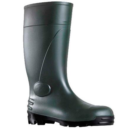Bottes de sécurité étanches en PVC SBP - Gris / Noir - 46 - taille: 46 - couleur: Gris / Noir