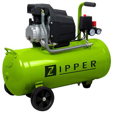 Compresseur 50 litres électrique 1100 W ZI-COM50E ZIPPER - -