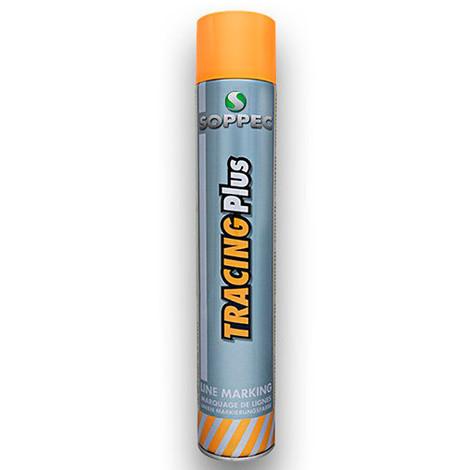 Peinture aérosol pour marquage au sol haute performance TRACING PLUS 750 ml de couleur Blanche - 151700 - Soppec - Blanc