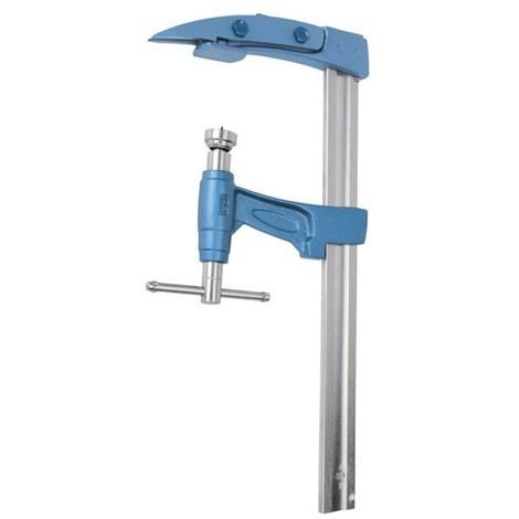 Serre-joint à pompe CHARPENTIER 100 cm section 35 x 8 mm saillie de 120 mm - UR-1527100 - Urko