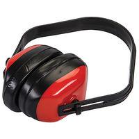 Casque anti-bruit confort - Noir / Rouge