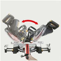 Scie à onglet radiale à double inclinaison D. 254 mm 1 600 W 230 V - ENERGYSAW-254SB