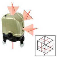 Niveau laser automatique 3 croix et 1 point