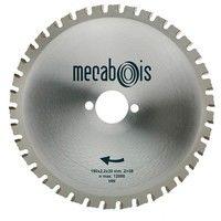 Lame carbure MAXIMETAUX D. 190 x 2,2 x 30 mm Z 38 dents plates - Aciers/Profilés/Panneaux sandwich - 280264 - Sidamo