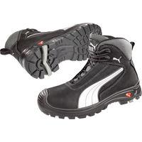 Sicherheitsstiefel Cascades Mid Gr.48 schwarz//weiß Leder S3 HRO SRC EN20345